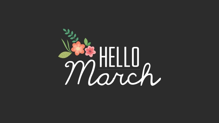 It's MARCH: New Name, NewSite